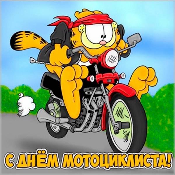 Прикольная картинка с днем байкера - скачать бесплатно на otkrytkivsem.ru