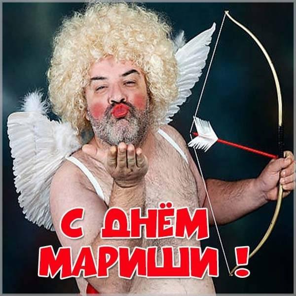 Прикольная картинка с днем Мариши - скачать бесплатно на otkrytkivsem.ru