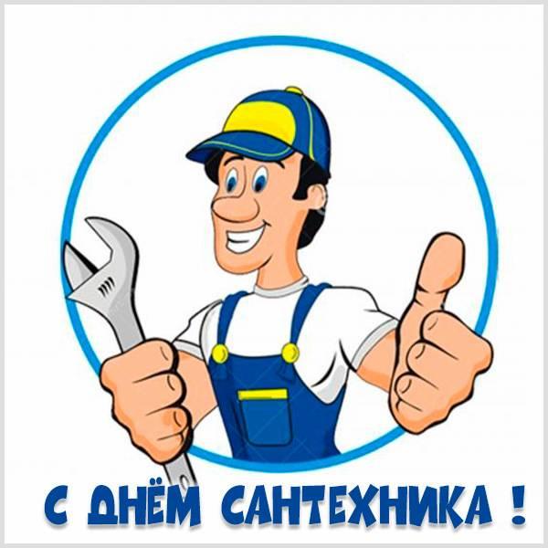 Прикольная картинка с днем сантехника - скачать бесплатно на otkrytkivsem.ru