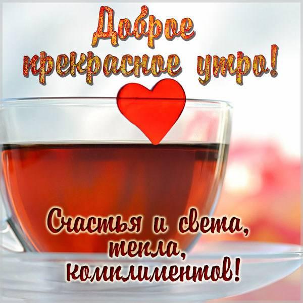 Прикольная картинка с надписью доброе прекрасное утро - скачать бесплатно на otkrytkivsem.ru