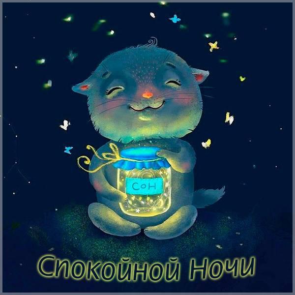 Прикольная картинка спокойной ночи подруге от подруги - скачать бесплатно на otkrytkivsem.ru