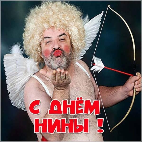 Прикольная открытка с днем Нины - скачать бесплатно на otkrytkivsem.ru