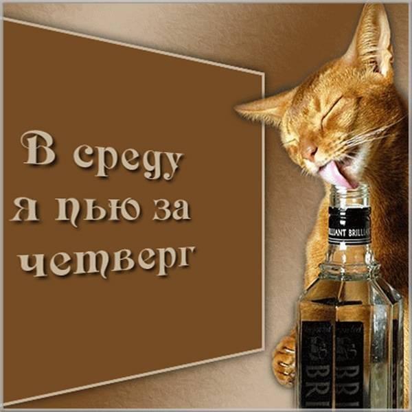 Прикольное фото про четверг - скачать бесплатно на otkrytkivsem.ru