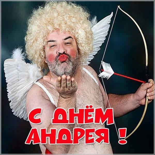 Прикольное поздравление с днем Андрея в картинке - скачать бесплатно на otkrytkivsem.ru