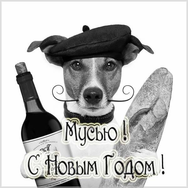 Смешная картинка про Новый год - скачать бесплатно на otkrytkivsem.ru