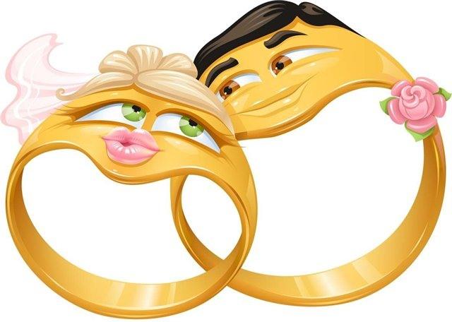 Рисунки с днем Свадьбы - скачать бесплатно на otkrytkivsem.ru