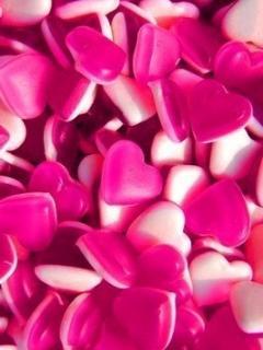 Розовые сердечки - скачать бесплатно на otkrytkivsem.ru