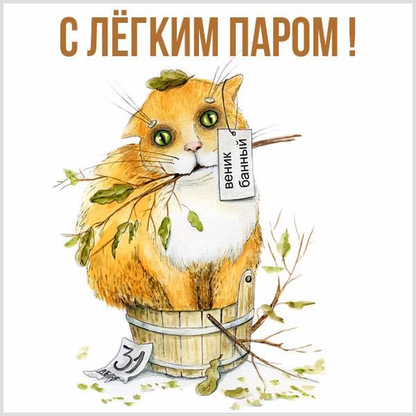 Ржачная картинка с легким паром - скачать бесплатно на otkrytkivsem.ru