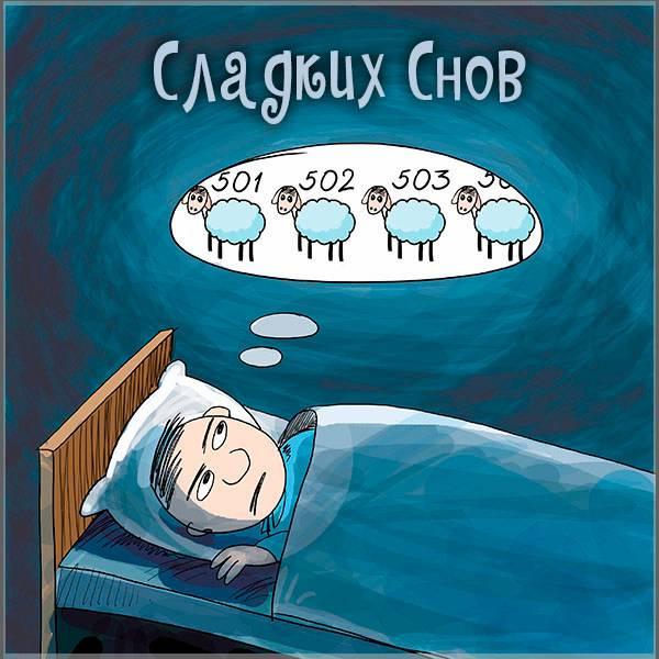Ржачная картинка сладких снов - скачать бесплатно на otkrytkivsem.ru