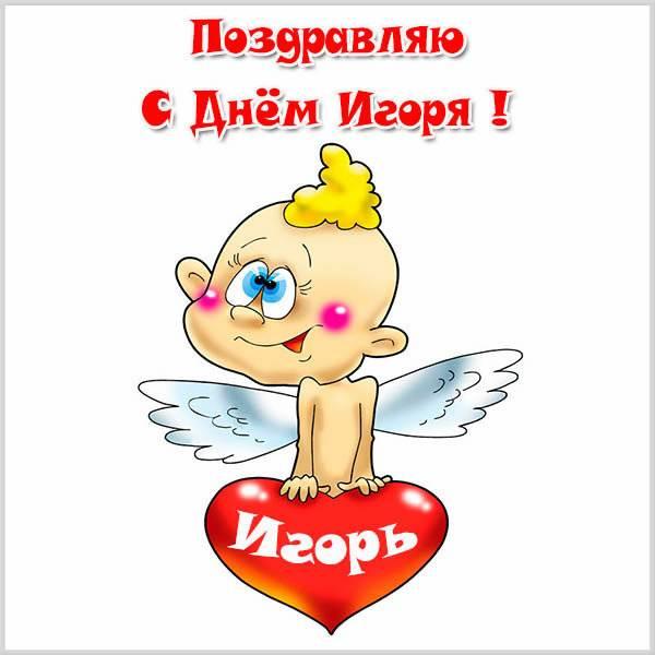Смешная картинка с днем Игоря - скачать бесплатно на otkrytkivsem.ru