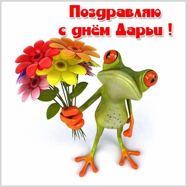 Смешная открытка с днем Дарьи - скачать бесплатно на otkrytkivsem.ru