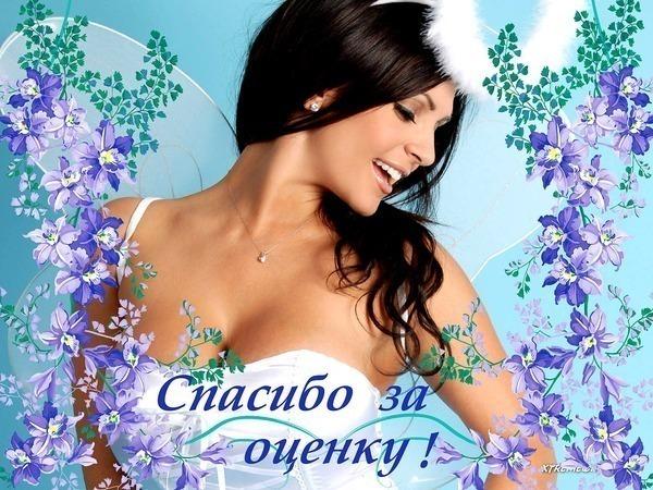 Спасибо за оценку - скачать бесплатно на otkrytkivsem.ru