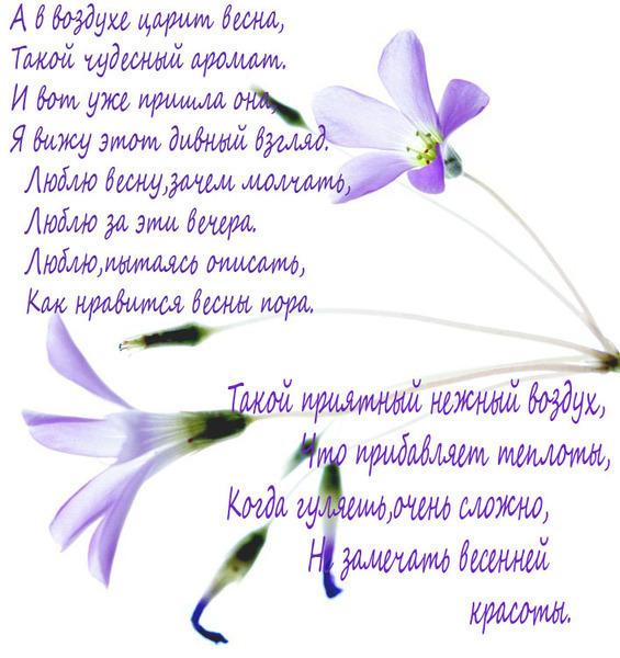 Стихи про весну - скачать бесплатно на otkrytkivsem.ru