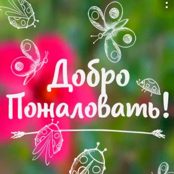 Виртуальная картинка добро пожаловать - скачать бесплатно на otkrytkivsem.ru