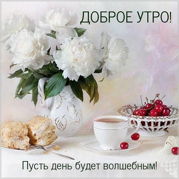 Виртуальная картинка доброе утро хорошего дня фото - скачать бесплатно на otkrytkivsem.ru