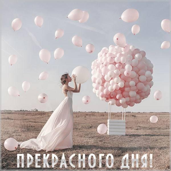 Виртуальная картинка с пожеланием прекрасного дня - скачать бесплатно на otkrytkivsem.ru