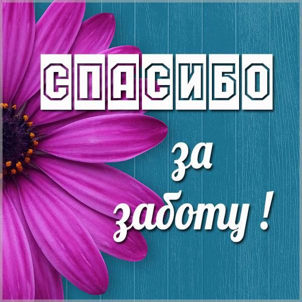 Виртуальная картинка спасибо за заботу - скачать бесплатно на otkrytkivsem.ru