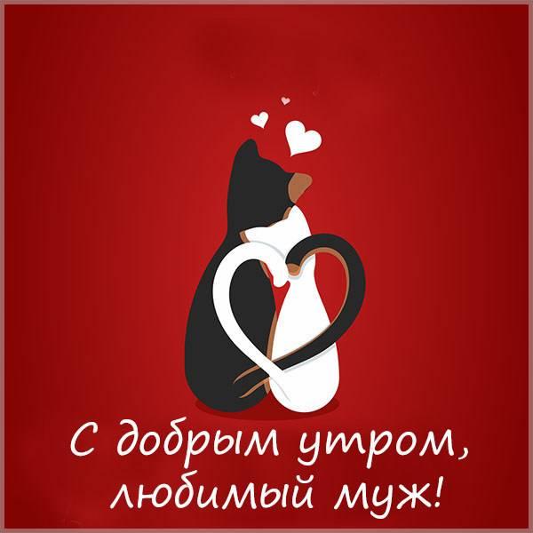 Виртуальная открытка с добрым утром любимый муж - скачать бесплатно на otkrytkivsem.ru
