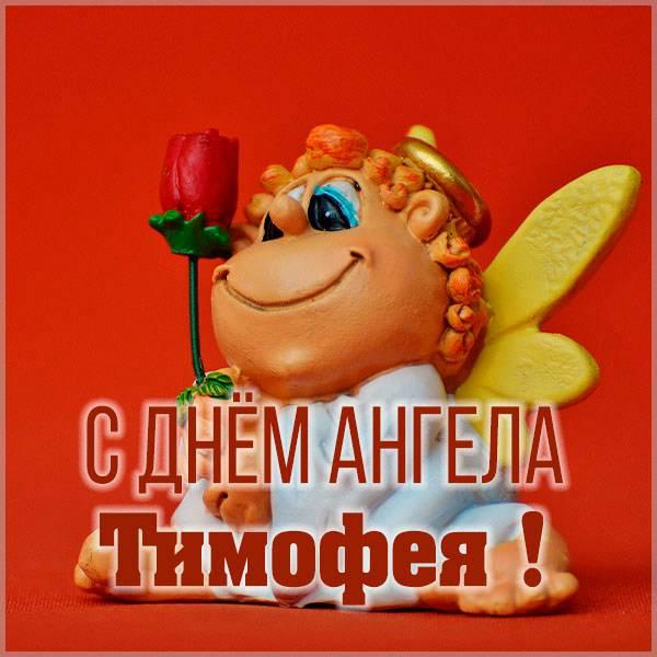 Яркая открытка с именинами для Тимофея - скачать бесплатно на otkrytkivsem.ru