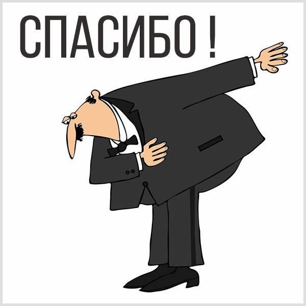 Забавная картинка спасибо - скачать бесплатно на otkrytkivsem.ru