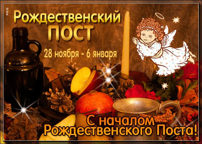 Милая открытка Рождественский пост - скачать бесплатно на otkrytkivsem.ru