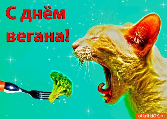 С днём вегана - скачать бесплатно на otkrytkivsem.ru